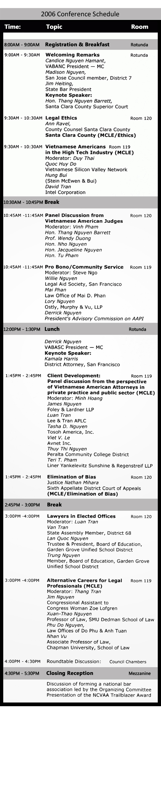 2006_Conference_Schedule