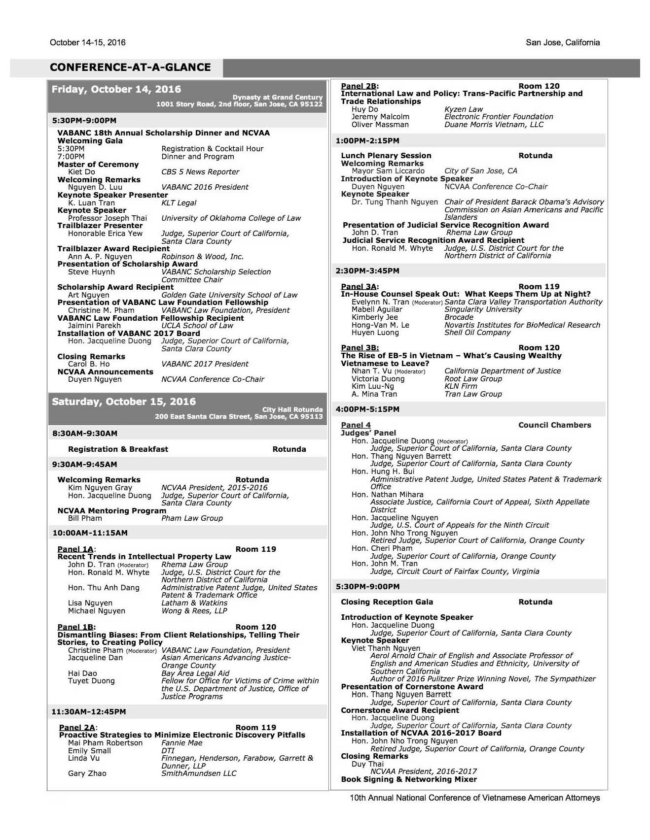 2016_Conference-At-A-Glance
